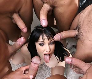 Blowbang Porn Pictures